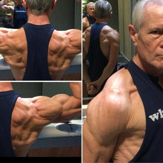 68 year old man with a six pack thiswillblowmymind