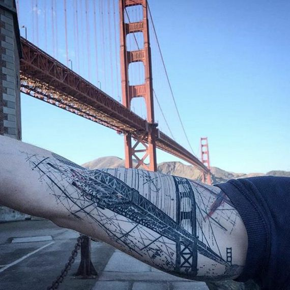 17 Beautiful Architecture Tattoos That Will Convince You