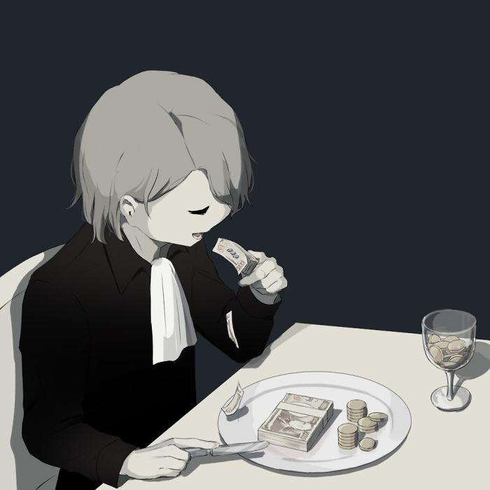 50 Dark Illustrations By Japanese Artist Avogado6 That