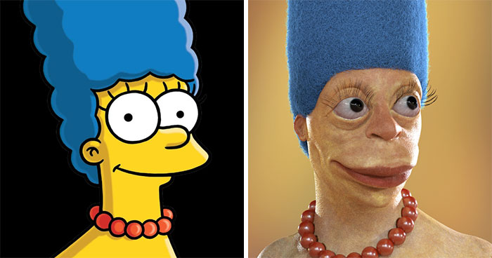 16 Cartoon Characters In Real Life And It Might Ruin Your